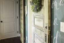 Farmhouse / Farmhouse Style Decorating, Projects and Inspiration! All kinds of Rustic Farm Style Decor ideas in one place!