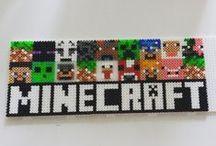 Perlers - Minecraft / by Christy Jorewicz Kerby