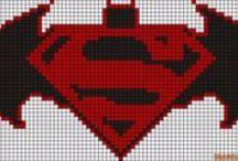 Perlers - Superheros & Villans / by Christy Jorewicz Kerby