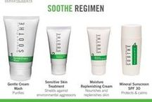 SOOTHE / SOOTHE Regimen combines clinically proven OTC active ingredients with our exclusive, patent-pending RFp3 peptide technology to shield against the biological and environmental aggressors associated with dry, irritated, sensitive skin. The result? A healthy-looking, even-toned complexion every day