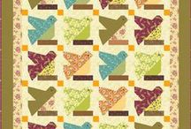 Quilts / Quilt patchwork patterns in great colors.