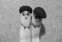 Finger People / LET THEM LIVE THEIR (tiny) HAPPY LIVES / by Annika Berger