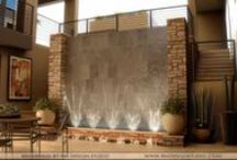 Water Walls - MUST have one in my home one day!