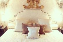 """Bedroom Ideas / """"My bedroom is my sanctuary. It's like a refuge, and it's where i do a fair amount of designing - at least conceptually, if not literally."""" - Vera Wang  / by Sierra Smith"""