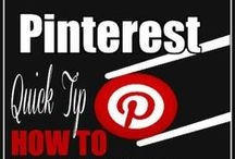 Pinterest How To / Pinterest tips for small businesses and bloggers so you get the most out of your pinning!