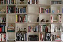 homes: books+shelves.
