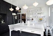 homes: kitchens.