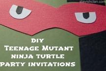 Teenage Mutant Ninja Turtle Party / by Simply Stavish
