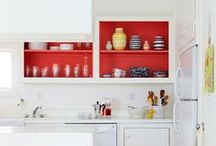 homes: pops of paint.