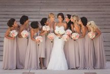 "❊ Bridesmaids ❊ / ""Weddings are important because they celebrate life and possbility."" - Anne Hathaway  / by Sierra Smith"