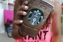 "❆ Starbucks ❆ / ""I'm so spoiled; I must have a Starbucks Vanilla Latte everyday."" - Katie Holmes  / by Sierra Smith"