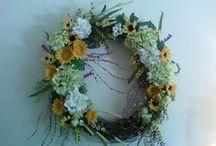Spring /All Season Wreaths / by Joseph R Teodosio