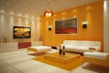 Living Room Interior / Decor your living with unique and classy designs..