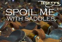 Saddles / by Teskey's Saddle Shop & Bootique