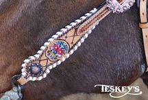 Teskey's Exclusive Kickin Ass Tack / Looking for tack that's just a little bit funky and a whole lot of fun? You'll love this exclusive line for bling, color and great quality.  / by Teskey's Saddle Shop & Bootique