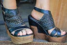 Shoes / Mens, and Ladies shoes. Sandals, Flip Flops, Wedges, Sneakers, Flats and more!   / by Teskey's Saddle Shop & Bootique