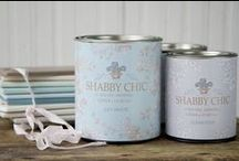 SHABBY CHIC® by Rachel Ashwell Chalk and Clay Paint / SHABBY CHIC® by Rachel Ashwell Chalk and Clay Paint is an American-made chalk and clay paint perfect for painting and repurposing your furniture finds. It will adhere to almost any surface, including wood, metal, ceramic, stone, and more. It is fast-drying and provides an easy clean up.