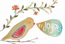 JOY / A hodgepodge of things that make me happy!!  / by Amy Gutek