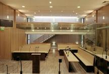 DJ / Agence A.Yedid Palais de Justice / Palais de Justice de Paris - 3° salle d'Assisses pour la Cour d'Appel / Architecte: Adam Yedid / Chef de projet: Delphine Jaoul #delphinejaoul #architecte