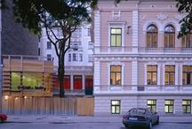 DJ / Agence A.Yedid - CCF Riga / Centre culturel français à Riga / Architecte: Adam Yedid / Chef de projet: Delphine Jaoul #delphinejaoul #architecte #Riga