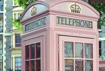 phones and booths / by Buff Tracy