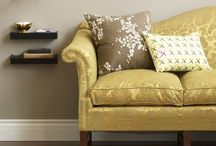 11.3 Upholstery Furniture and Chairs / Upholstered sofa, chair, accent chairs, beds  / by June Ou