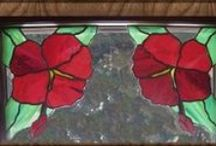 Beautiful things of stained glass