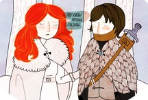 You Know Nothing / my Song of Ice & Fire (Game of Thrones) board / by Ceci Blake