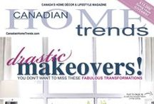 Inspiration from Home Trends Contributors / A behind the scenes look at the things that inspire the Canadian Home Trends Magazine contributors, their latest projects and more.