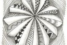zentangle, tangle/doodle / by Cindy Royal Freeman