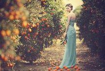 Teal and Orange Citrus / Teal, Orange, Mandarin, Romantic, Mediterranean. A unique palette of colors and feelings. Inspiration for our Orange soap bar