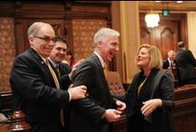 IL Senators in Action / This is a slideshow of the Senate Republicans in action on the floor.