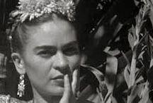 LA KAHLO / Huellas de la vida y obra de quien es una de las más grandes pintoras del mundo. / by Bri Allard