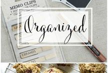Home Organizing / Get Organized. Clean House.