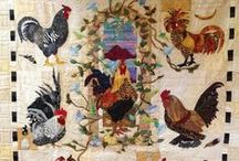 Rooster Quilts / by Debra Robinson