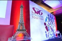SIG Paris- Annual Conference and Awards 25.04.15 / In April, our crew headed over to Paris to provide full AV and technical support for one of our client's event at the L'Hotel Du Collectionneur.