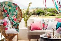 OUTDOORS / Outdoor living. Inspiration for stylish weekends outside