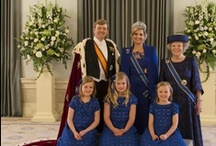 """The Dutch Royal Family / Holland is a fairly young monarchy. The Kingdom of the Netherlands was established in 1815, and King William I was its first ruler. The first king of Holland was from the House of Orange-Nassau. The origin of Holland's motto, 'Je maintiendrai (""""I will maintain"""")', the colors of the flag and the national color orange may all be found in the House of Orange-Nassau. Learn more about the Dutch Royal family here: http://www.holland.com/us/tourism/interests/the-dutch-royal-family.htm"""