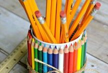 Back To School / Back To School Project ideas and inspiration / by CRE8TIME