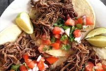 Mexican inspired meals / by Jennifer Bianchi- Cooper