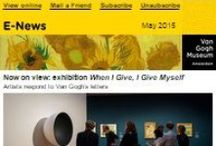 Van Gogh Museum E-News / The Van Gogh Museum sends a monthly digital newsletter with news about the museum, exhibitions, activities and special offers. Would you like to receive our newsletter? Go to: http://www.vangoghmuseum.nl/vgm/index.jsp?page=258092&lang=en&section=sectie_museum / by Van Gogh Museum
