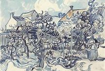 Vincent  van Gogh's drawings / Vincent van Gogh drew frequently as a way of practising his technique. Some of his drawings, however, he considered works of art in their own right.