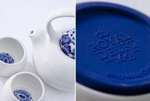 """Inspired by Delft Blue / Delft Blue is the world-famous earthenware that has been produced in the city of Delft since the 17th century. Between 1600 and 1800, this earthenware was popular among rich families who would show off their Delft Blue collections to one another. This board is full of all things """"blue"""" - from patterns to tiles and almost everything in-between."""