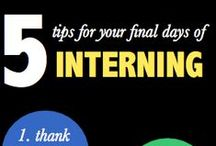 Preparing for your Internship / Some ideas on how you can make the best of your internship!