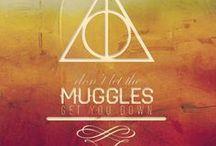 Harry Potter stuff / by Amanda