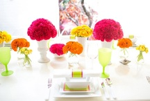 Weddings { Multicolour } / Wedding inspiration and ideas for brights looking for a bright and colorful scheme  / by UrbanMuse.ca