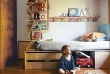 {Home} Bigger Kid Rooms at UrbanBaby / Moving from the cot to the big kid bed is a big step.  Now we need storage and room to play / by UrbanBaby.com.au
