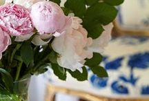 Classic Blue And White Decor / Blue and white always looks fabulous! / by Nikki hill