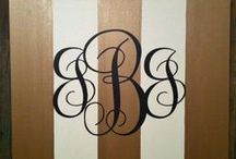 Monogrammed / by Katie Nobles