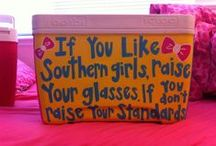 Painted Coolers / by Katie Nobles
